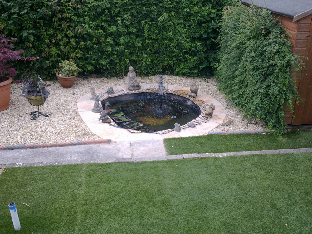 Koi carp pond contruction mill farm frome south west for Koi carp pond construction